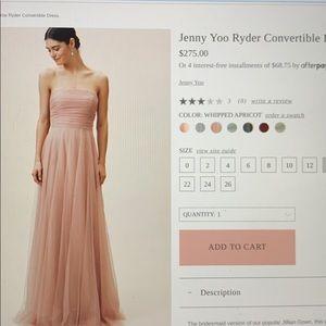 BHLDN Ryder Dress - Whipped Apricot